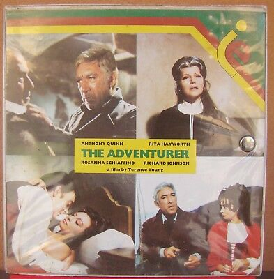 Film Pellicola super 8-THE ADVENTURER - ANTHONY QUINN - sonora a Colori 3 bobine