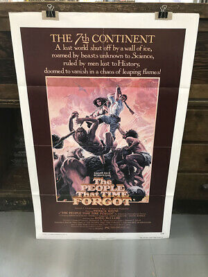 The People That Time Forgot-Us One Sheet Movie Poster-7.0
