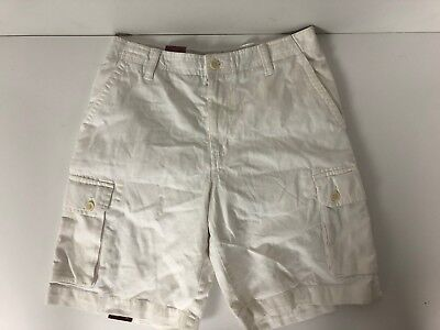 251076d395 NWT MENS IZOD Cargo Shorts Tan Khaki Saltwater Red Blue Belted 34 36 ...