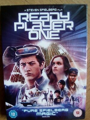 New Dvd Ready Player One Steven Spielberg English Version