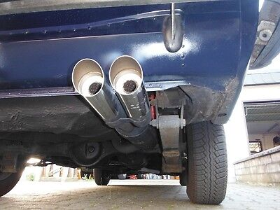 Fiat 125, 125S and 125 Special kpl. Abarth & C. Auspuffanlage Exhaust system