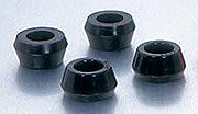 replacement polyurethane shock bushings Peterbilt, Kenworth Mack, Western Star