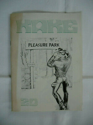 Tom of Finland, KAKE 20. Pleasure Park, orig. 1970er Comic, 20 Seiten, gay book