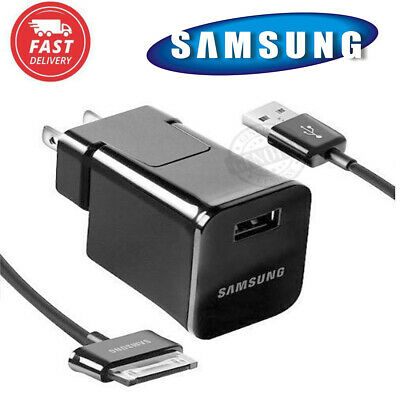 OEM Samsung Galaxy USB Wall Charger Cable For Tab 2 7.0 7.7 8.9 10.1 Note Tablet