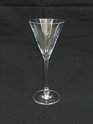 """Grey Goose Etched Martini Glass 7 1/2"""""""
