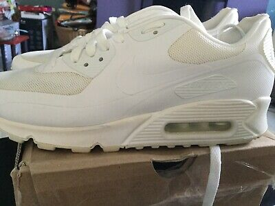 sports shoes 75b7c ab0b0 NIKE AIR MAX 90 HYPERFUSE USA WHITE Sz US9 UK8 Euro 42.5 Independence Day  Rare.
