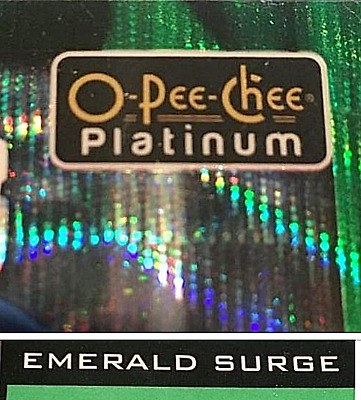 2015-18 - OPC PLATINUM EMERALD SURGE /10.....YOU PICK! Bure/Ehlers/Neely/Couture