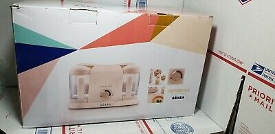 Authentic BEABA Babycook Plus Baby Food Maker, Rose Gold-A+ CONDITION fast ship