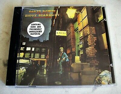 David Bowie The Rise And Fall Of Ziggy Stardust And The Spiders Cd 1990 Emi