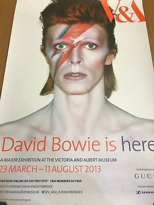 Ziggy Stardust - David Bowie Is Genuine London V & A Exhibition Poster