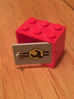 2x Container coffre box cupboard 2x3x2 rouge//red 4532 NEUF Lego