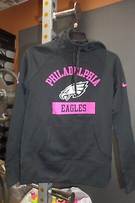 22248bdfb2b Nike Philadelphia Eagles NFL Hoodie Womens Size M Breast Cancer Awareness  Pink