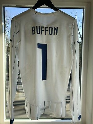 7764c0e74 Buffon Italy Authentic Jersey Maglia Match Worn Player Issue Juventus Italy  XL