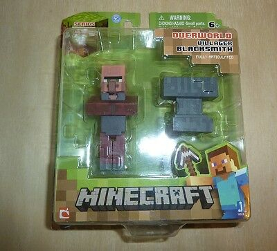 MINECRAFT TOYS -VILLAGER Blacksmith action Figure with