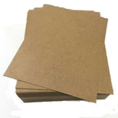 Chipboard  8.5x11 sheets Bundle in QTY of 35 Sheets Each