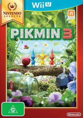 Nintendo Selects Pikmin 3 Wii U WiiU Game NEW