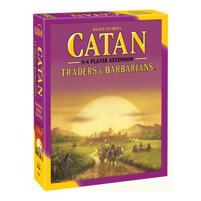 Catan Traders & Barbarians 5-6 Player Extension Expansion Board Game NEW