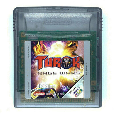 Turok Rage Wars Game Boy Color Game USED