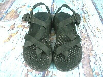 089980573234 Chaco Z2 Vibram Yampa Classic Black Sport Sandals Shoes Women s Size  8