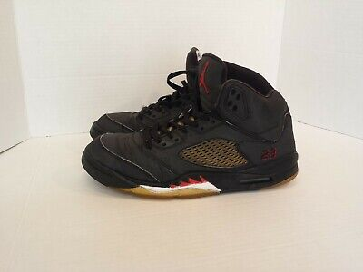 new product b51de ad76e Nike Air Jordan 5 DMP Raging Bull 3M Size 8.5 Black Red White 136027-061