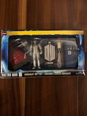 Doctor Who Christmas Ornaments - Set Of 5 - Collectible