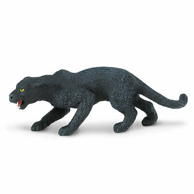 Wild Safari Wildlife Black Panther Safari Ltd Animal Educational Toy Figure