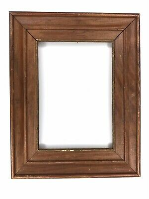 Arts and Crafts Wood Picture Frame Small 5x7 Photo Antique Vintage