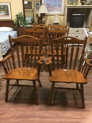 Tell city Andover #46 #8072 mint six chair set