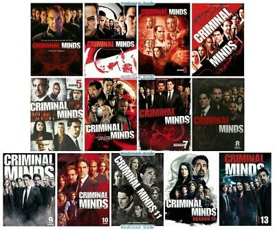 Criminal Minds - The Complete Series Seasons 1 Through 13 DVD Set Brand New 1-13