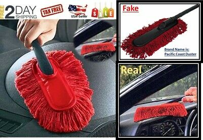 The Original California Large Car Cleaning Duster Car Home Wax Treated Brush NEW