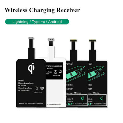Récepteur QI Charge Wireless Sans Fil Chargeur Induction Samsung Iphone Sony