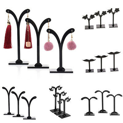3X Crotch Earring Studs Jewelry Rack Display Stand Storage Hanger Holder Ornate