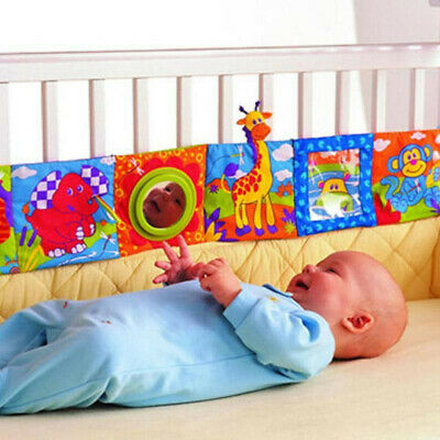 Baby Early Educational Cloth Book Intelligence Development Cognize Toy Kid Soft