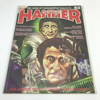 THE HOUSE OF HAMMER No 2 Vintage Collectable 1976 Horror Magazine WE01969