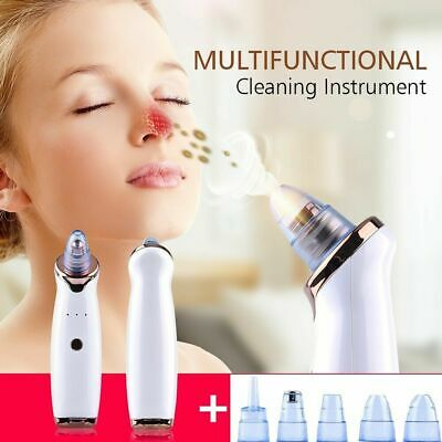 Electric Face Skin Care Pore Blackhead Remover Acne Vacuum Suction Cleaner Tool