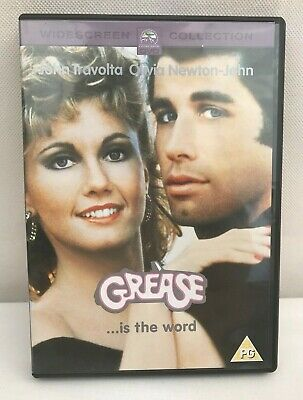 Grease. Is the Word DVD Widescreen Collection  John Travolta Olivia Newton John