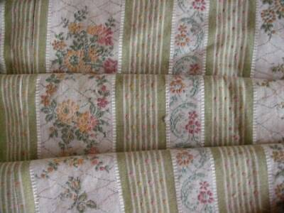 Quality French Woven Regency Design Upholstery Panel  Fully Lined
