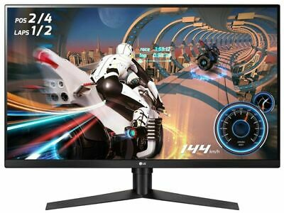 "LG  32"" QHD Computer Gaming Monitor VA Panel, FreeSync ,144Hz, 1ms , 32GK650F-B"