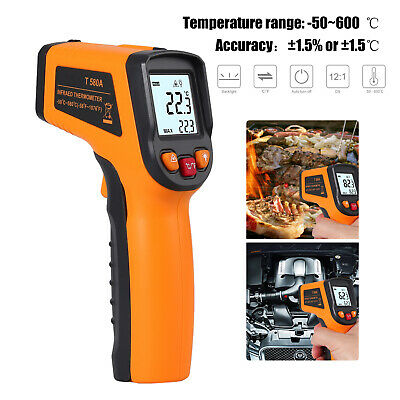 Infrared Thermometer,Non-Contact LCD Digital Laser IR Infrared Thermometer