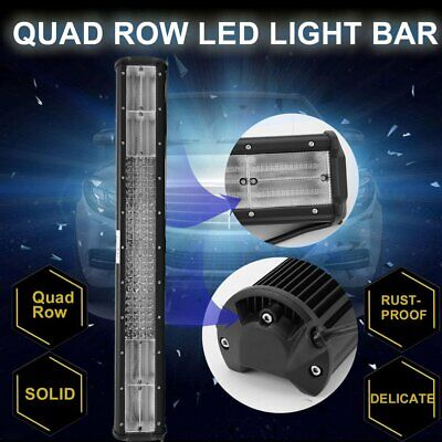 "23""Inch LED Light Bar Triple Row Combo Beam Work Driving Offroad 4WD AU"