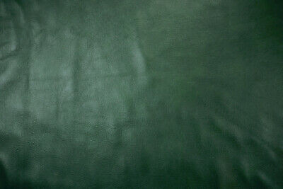 Medium weight cowhide upholstery leather  Forest green  1.2/1.4mm  BARKERS N345