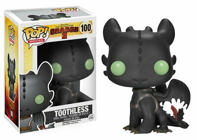 Funko Pop! How To Train Your Dragon 2 TOOTHLESS Vinyl Figure NEW - VERY RARE