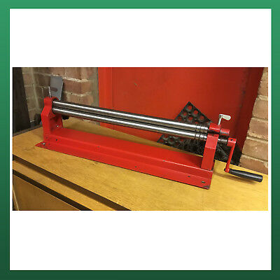 USED - WNS Top Slip Bench Bending Rolls / Rollers 660mm x 30mm x 0.8mm Tube