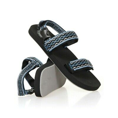 e4531800ff34 Reef Convertible Ankle Strap Sandals - Black Grey Blue (NEW 2019)