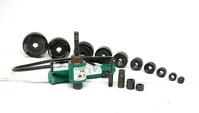"""Greenlee 7310 - 4"""" Knockout Set with Case"""
