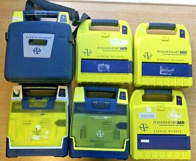 Joblot x6 Cardiac science G3 (AED) Defib, Units Only