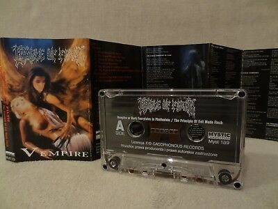 CRADLE OF FILTH Vempire Or Dark.... / The Principle Of Evil Made...MC, CASSETTE