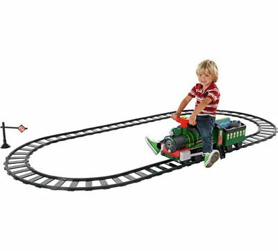 Chad Valley 6V Powered Ride On Train Track Set Toys Children Fun Kids Activities