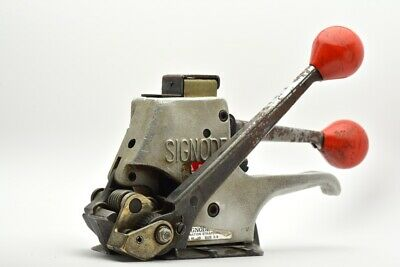 Signode AL-38 Steel Strapping Combination Tool 3/8in Banding (#2)