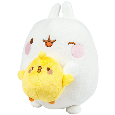 Molang L66029 Molang and Piu are the Best of Friends Talk and Sing Plush Toy